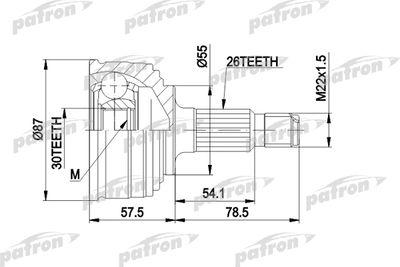 PATRON PCV1251