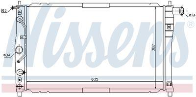NISSENS 616551