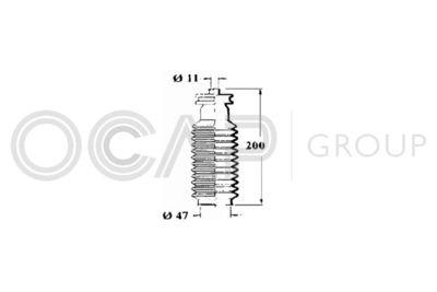 OCAP Stuurhoes, besturing (1211171)