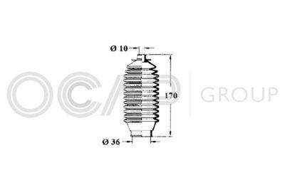 OCAP Stuurhoes, besturing (1211284)
