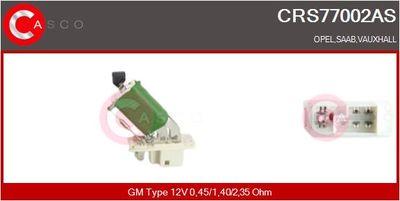 CASCO Weerstand, interieurventilator (CRS77002AS)