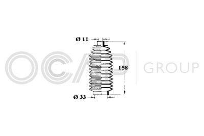 OCAP Stuurhoes, besturing (1211272)