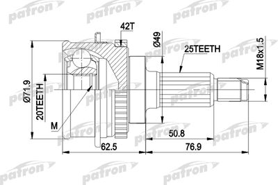 PATRON PCV3538