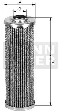 Hidrolik filtre, Direksiyon HD 55