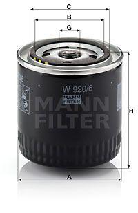 MANN-FILTER W 920/6