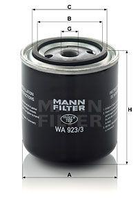 MANN-FILTER Koelmiddelfilter (WA 923/3)