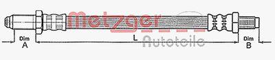 METZGER Koppelingsslang (4112219)