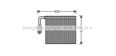AVA QUALITY COOLING Verdamper, airconditioning (FDV426)