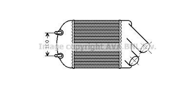 AVA QUALITY COOLING Intercooler, inlaatluchtkoeler (RTA4222)