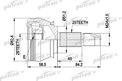 PATRON PCV1244