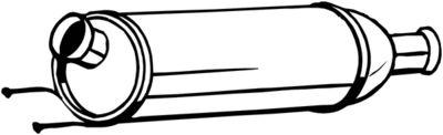 BOSAL Roetfilter, uitlaatinstallatie (097-258)