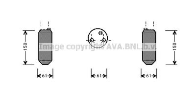 AVA QUALITY COOLING Droger, airconditioning (HYD001)