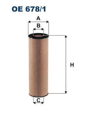 FILTRON Oliefilter (OE 678/1)