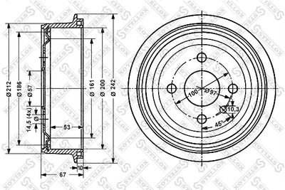 STELLOX 6025-9905-SX
