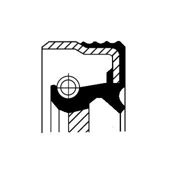 Veleno sandariklis, diferencialas