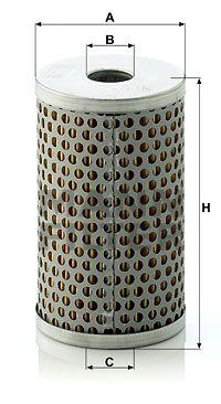 MANN-FILTER H 601/4