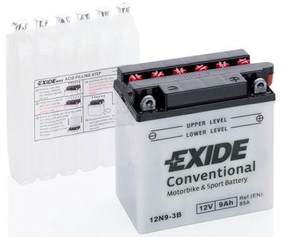 EXIDE 12N9-3B