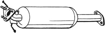 BOSAL Roetfilter, uitlaatinstallatie (097-311)