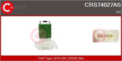 CASCO Weerstand, interieurventilator (CRS74027AS)
