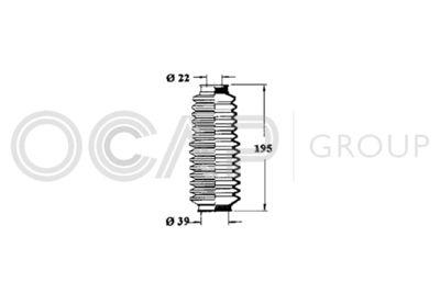 OCAP Stuurhoes, besturing (1211105)