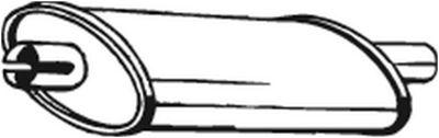 BOSAL Middendemper (200-957)