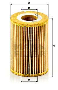 MANN-FILTER Oliefilter (HU 821 x)