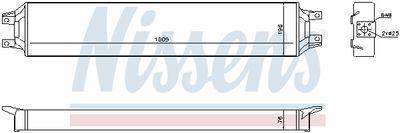 NISSENS Oliekoeler, motorolie (90731)