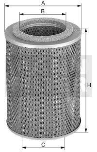 MANN-FILTER Oliefilter (H 1050/2)