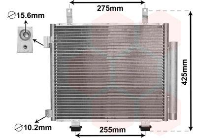VAN WEZEL Condensor, airconditioning (52005115)