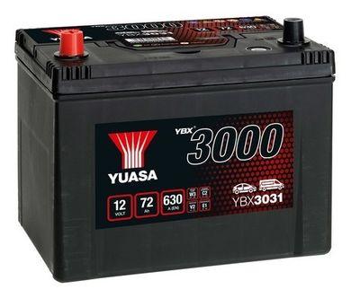YUASA Accu / Batterij YBX3000 SMF Batteries (YBX3031)