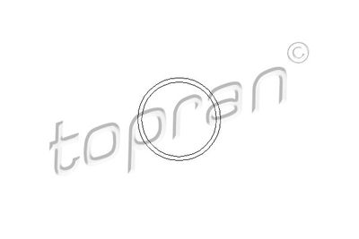 TOPRAN Pakking, waterpomp (202 288)