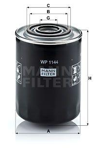 MANN-FILTER Oliefilter (WP 1144)