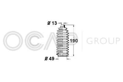 OCAP Stuurhoes, besturing (1211151)