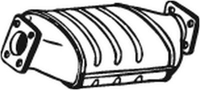 BOSAL Roetfilter, uitlaatinstallatie (097-310)