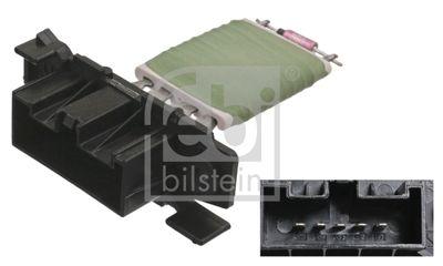 FEBI BILSTEIN Weerstand, interieurventilator febi Plus (100043)