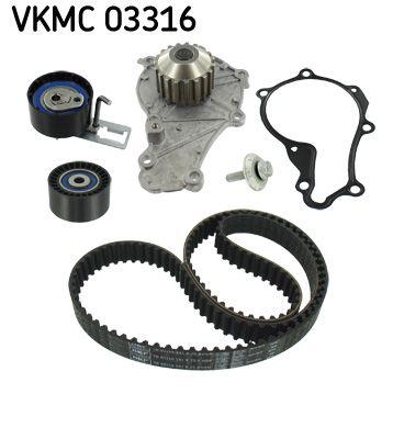 SKF Waterpomp + distributieriem set (VKMC 03316)