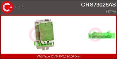 CASCO Weerstand, interieurventilator (CRS73026AS)