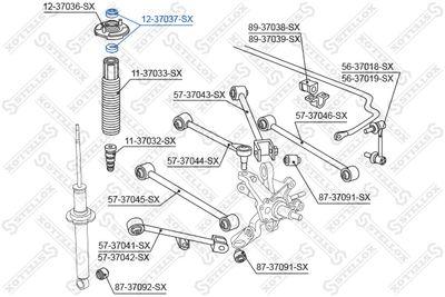 STELLOX 12-37037-SX