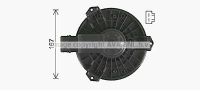 AVA QUALITY COOLING Elektrische motor, Interieurventilatie (HD8327)