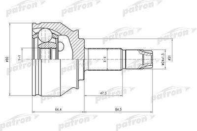 PATRON PCV1550