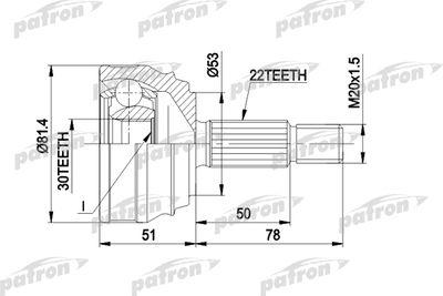 PATRON PCV1021