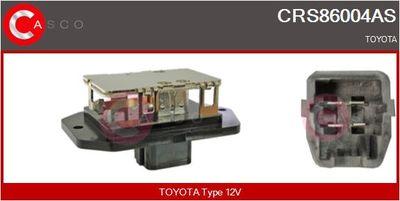 CASCO Weerstand, interieurventilator (CRS86004AS)