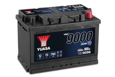 YUASA Accu / Batterij YBX9000 AGM Start Stop Plus Batteries (YBX9096)