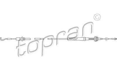 TOPRAN Gaskabel (103 603)