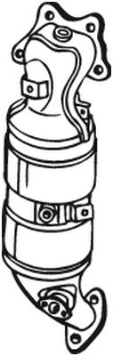 BOSAL Katalysator (090-638)