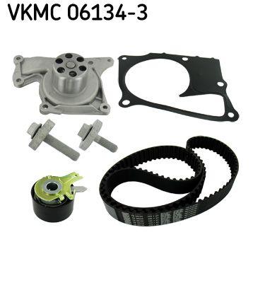 SKF Waterpomp + distributieriem set (VKMC 06134-3)