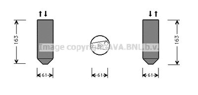 AVA QUALITY COOLING Droger, airconditioning (HDD109)