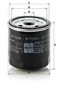 MANN-FILTER W 712/20