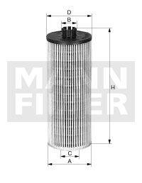 MANN-FILTER Oliefilter (HU 12 122 x)