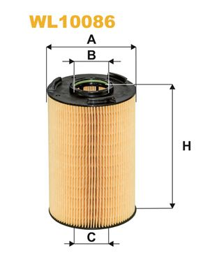WIX FILTERS Oliefilter (WL10086)